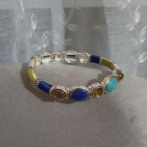 Jeweled stretch bracelet Napier